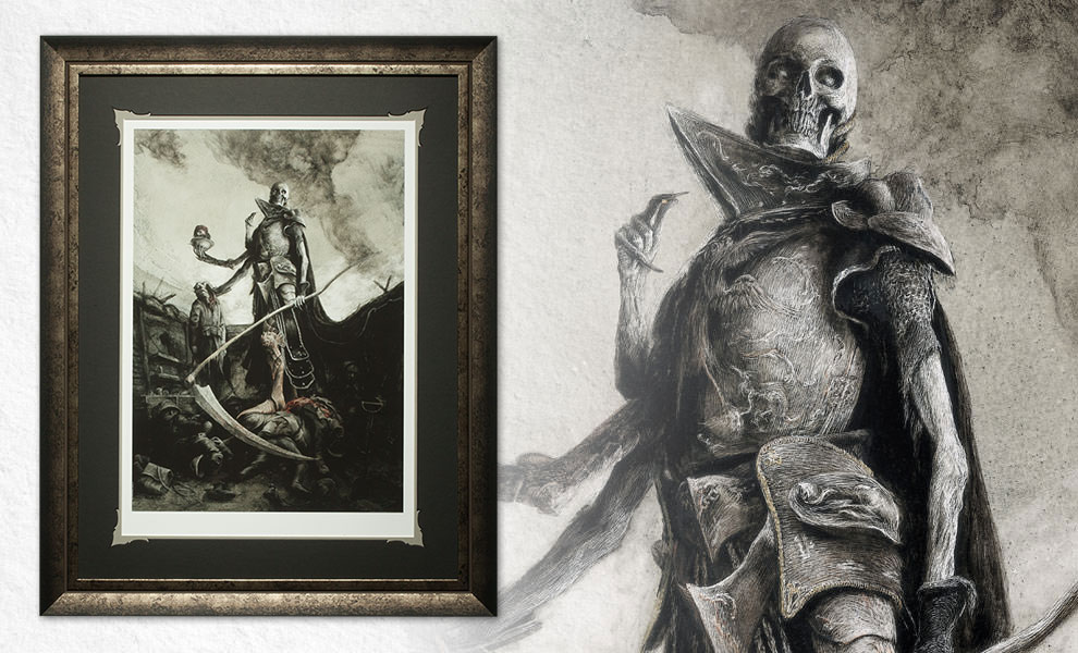 Gallery Feature Image of Demithyle Exalted Reaper General Art Print - Click to open image gallery