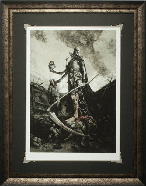 Sideshow Collectibles Demithyle Exalted Reaper General Art Print