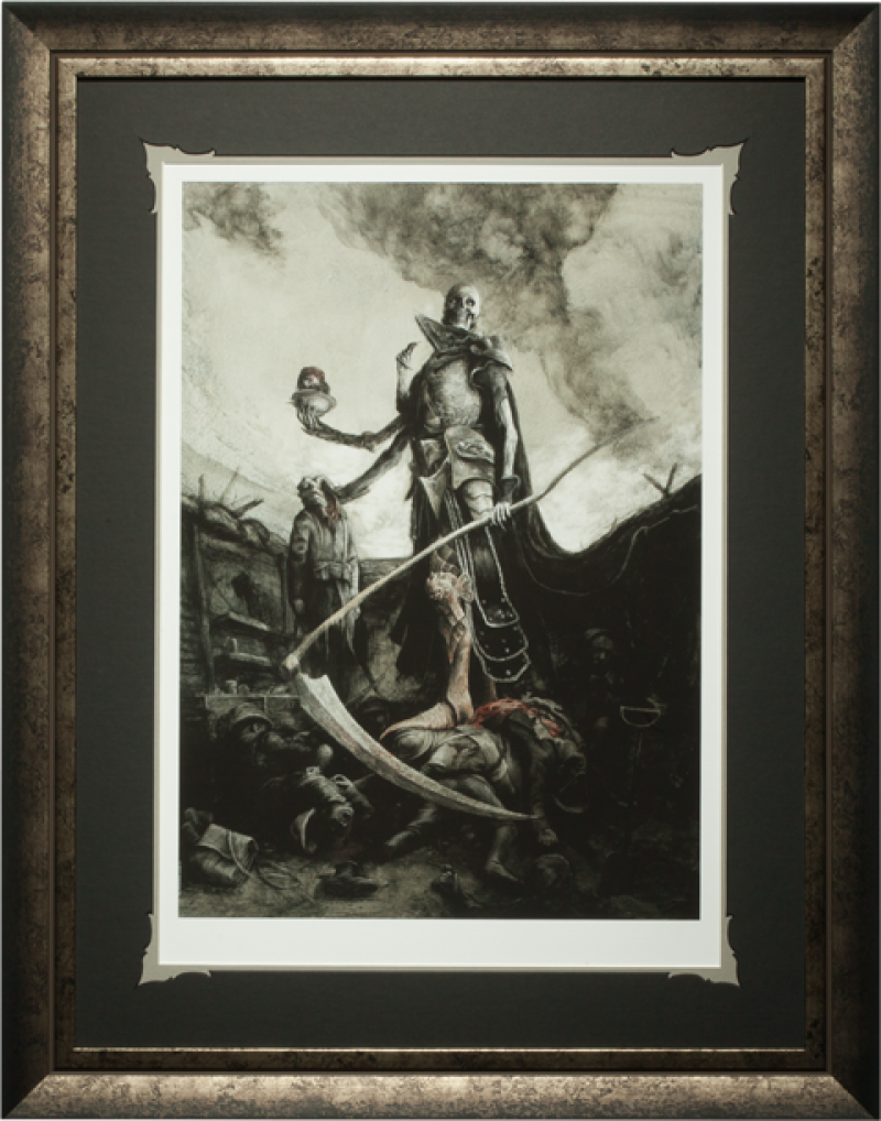 Demithyle Exalted Reaper General Art Print -