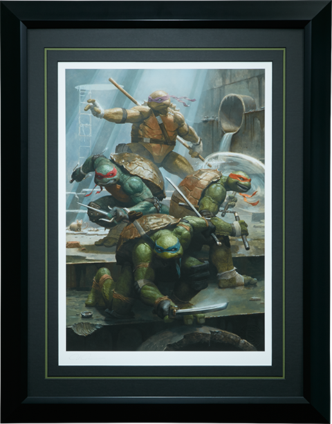 Tmnt Teenage Mutant Ninja Turtles Premium Art Print By Sides Sideshow