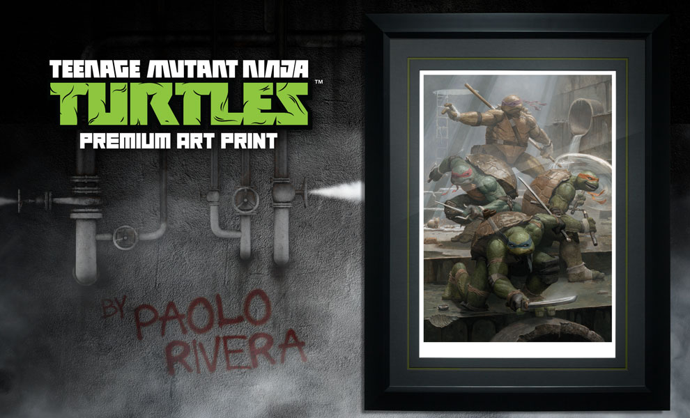 Gallery Feature Image of Teenage Mutant Ninja Turtles Art Print - Click to open image gallery