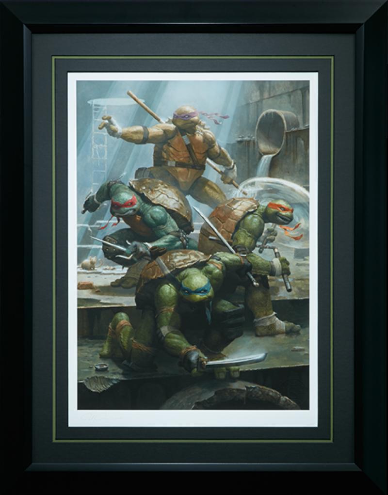 Teenage Mutant Ninja Turtles Art Print -