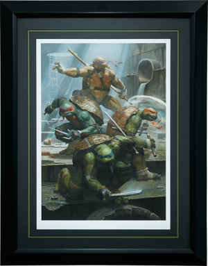 Teenage Mutant Ninja Turtles Art Print