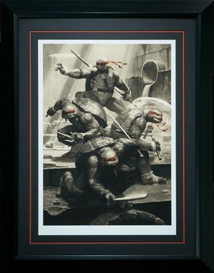Teenage Mutant Ninja Turtles Classic Variant Art Print