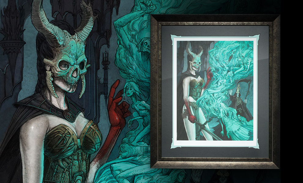 Gallery Feature Image of Outcast Daughter Art Print - Click to open image gallery