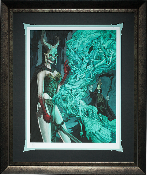 Sideshow Collectibles Outcast Daughter Art Print
