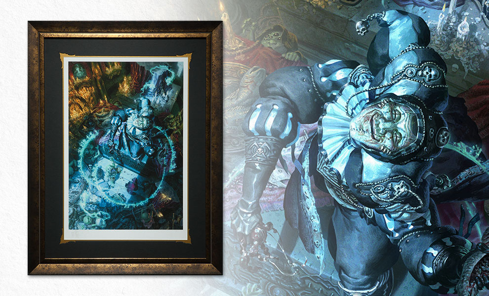 Gallery Feature Image of Malavestros The Muse of Madness Art Print - Click to open image gallery