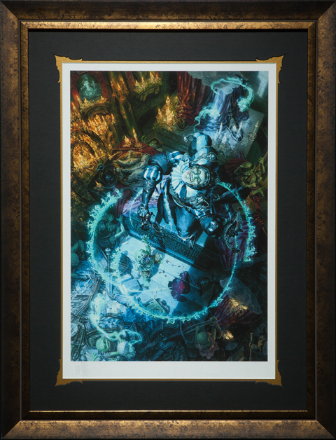 Sideshow Collectibles Malavestros The Muse of Madness Art Print