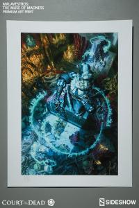 Gallery Image of Malavestros The Muse of Madness Art Print