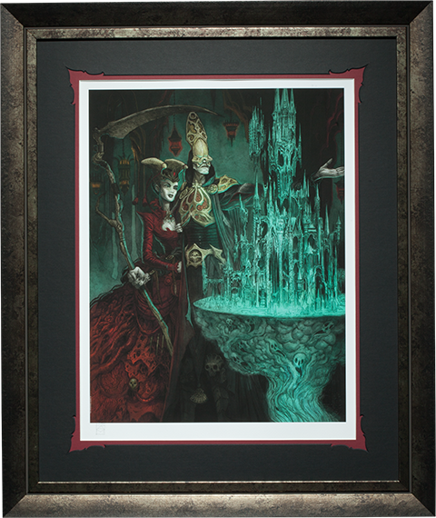 Sideshow Collectibles Keys to the Kingdom Art Print