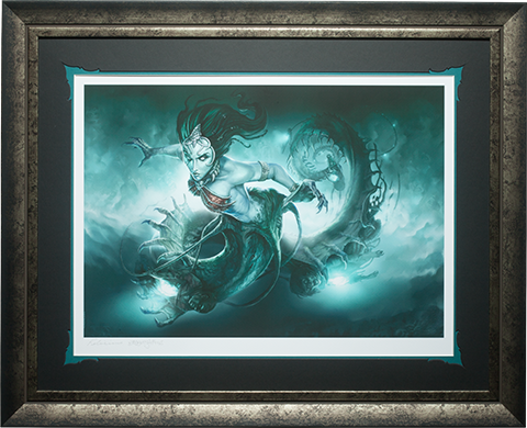Sideshow Collectibles Gallevarbe Crossing the Veil Art Print