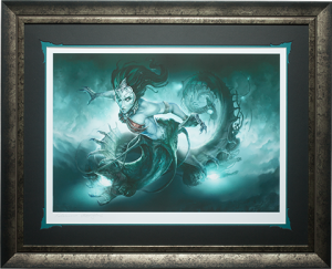 Gallevarbe Crossing the Veil Art Print