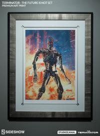 Gallery Image of Terminator The Future is Not Set Art Print
