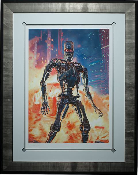 Sideshow Collectibles Terminator The Future is Not Set Art Print