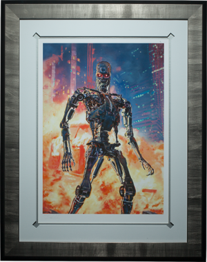 Terminator The Future is Not Set Art Print