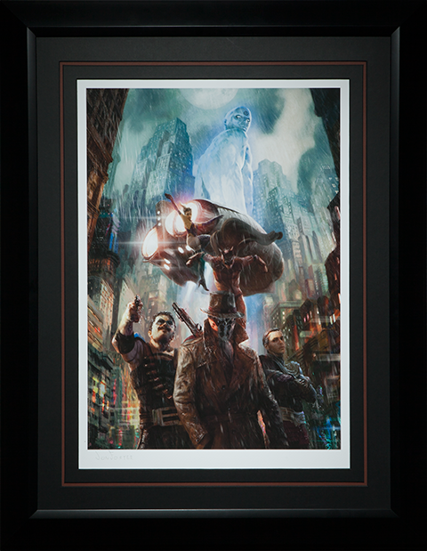 Sideshow Collectibles Who Watches the Watchmen Art Print