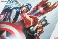 Gallery Image of Avengers Trinity Art Print