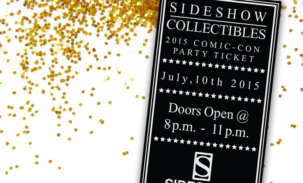Gallery Feature Image of 2015 Sideshow Comic-Con Party Ticket Ticket - Click to open image gallery