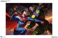 Gallery Image of Superman vs Lex Luthor Art Print