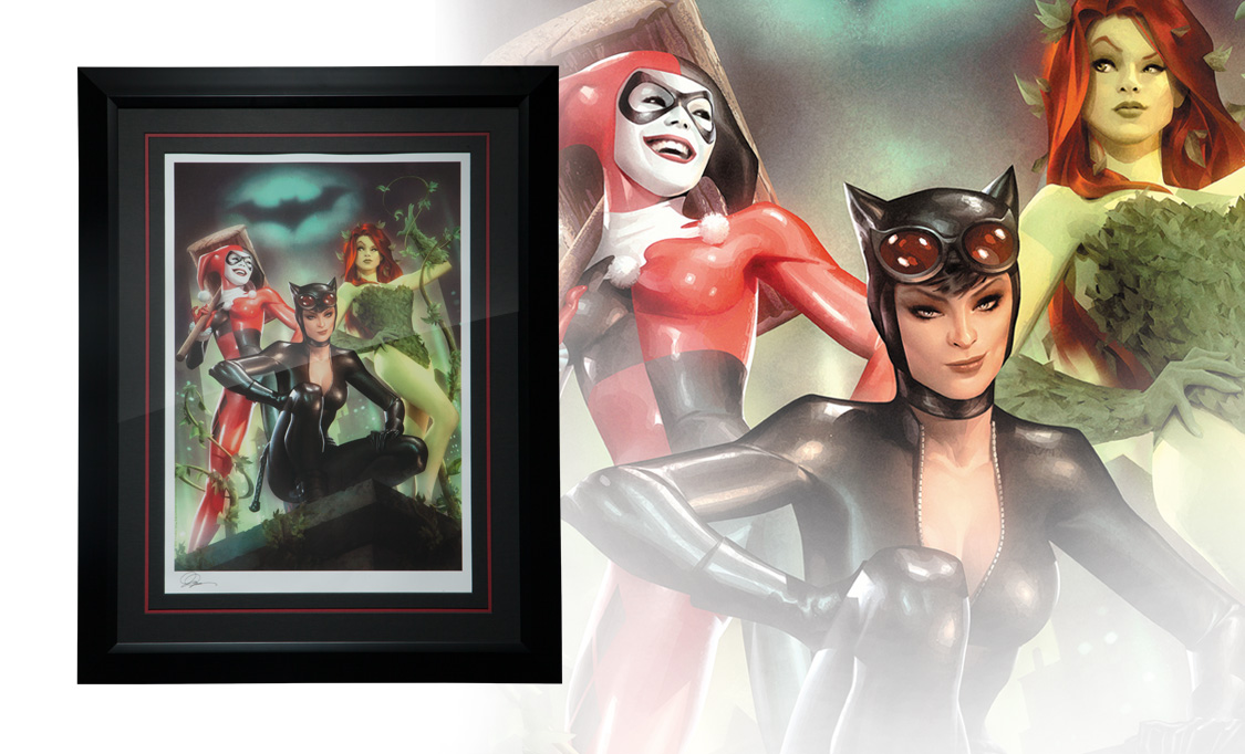 Gallery Feature Image of Gotham City Sirens Art Print - Click to open image gallery