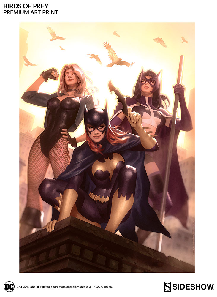 Dc Comics Birds Of Prey Premium Art Print By Sideshow Collec Sideshow Collectibles