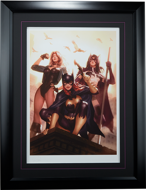 Sideshow Collectibles Birds of Prey Art Print