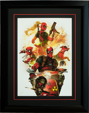 Deadpool Corps Art Print
