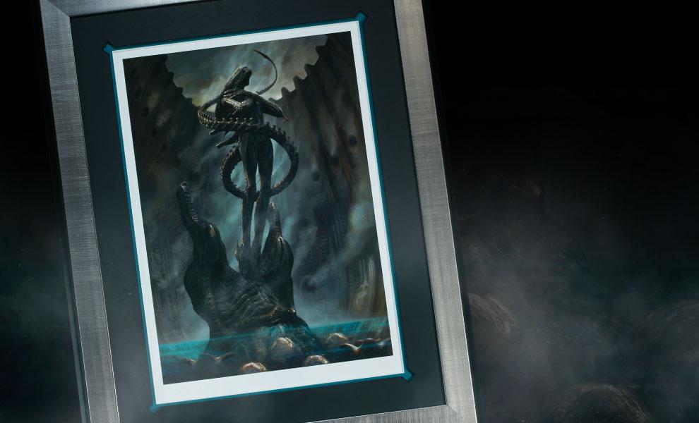 Gallery Feature Image of Alien Internecivus raptus Art Print - Click to open image gallery
