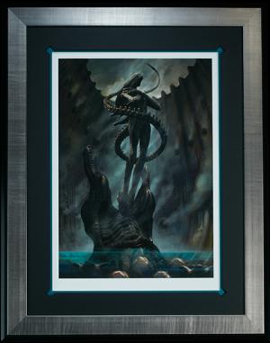 Alien Internecivus raptus Art Print