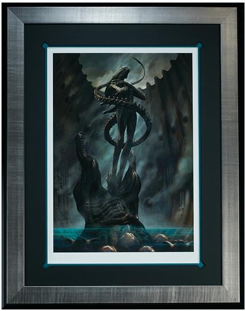 Sideshow Collectibles Alien Internecivus raptus Art Print