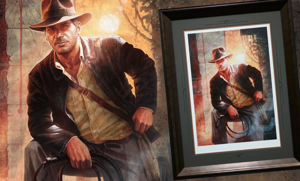 Gallery Feature Image of Indiana Jones Temple of Doom Art Print - Click to open image gallery