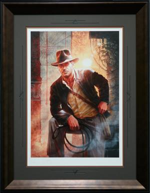 Indiana Jones Temple of Doom Art Print