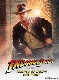 Gallery Image of Indiana Jones Temple of Doom Art Print
