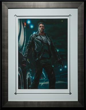 The Terminator Cyberdyne Systems Model 101 Art Print