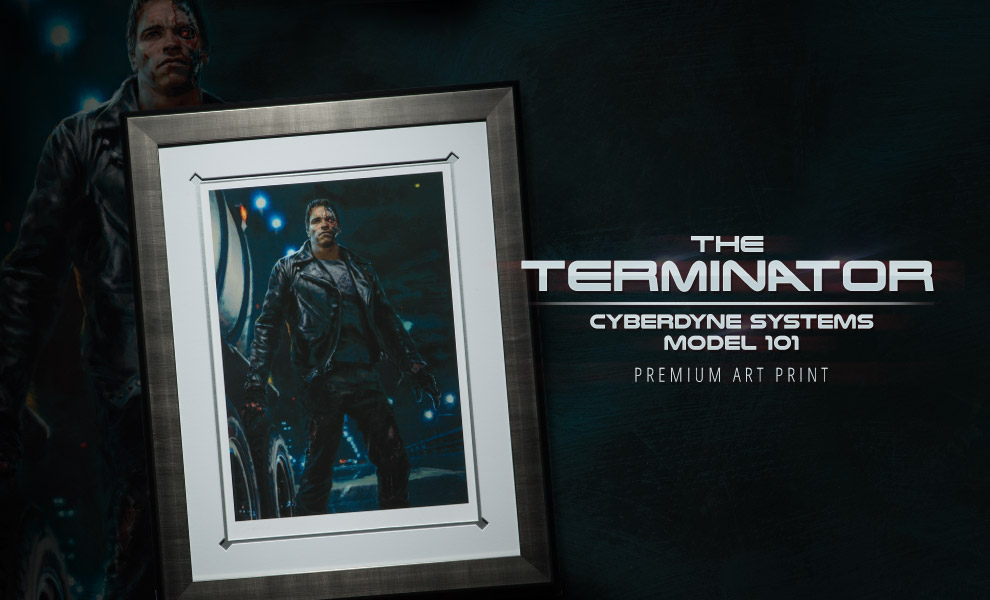 Gallery Feature Image of The Terminator Cyberdyne Systems Model 101 Art Print - Click to open image gallery