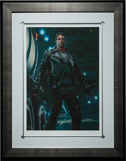 Sideshow Collectibles The Terminator Cyberdyne Systems Model 101 Art Print