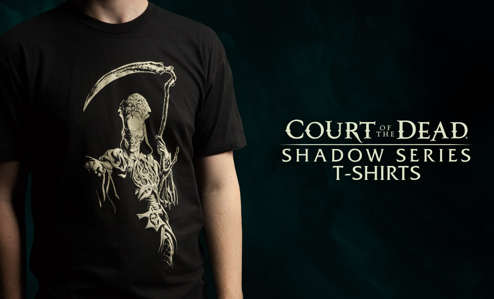 Gallery Feature Image of Death Shadow Series T-Shirt Apparel - Click to open image gallery