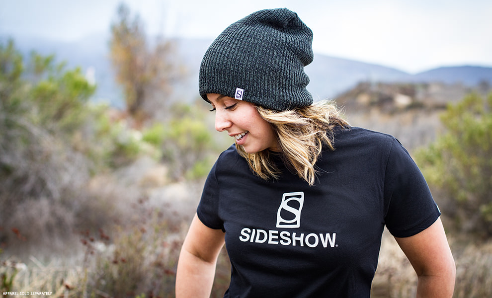 Gallery Feature Image of Sideshow Double Layer Knit Olive Beanie Apparel - Click to open image gallery