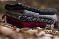 Gallery Image of Sideshow Double Layer Knit Olive Beanie Apparel