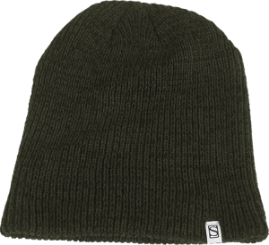 Sideshow Double Layer Knit Olive Beanie Apparel
