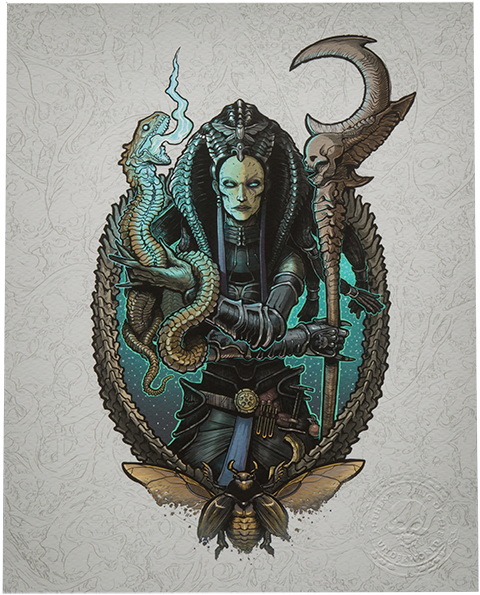 Sideshow Collectibles Cleopsis Art Print