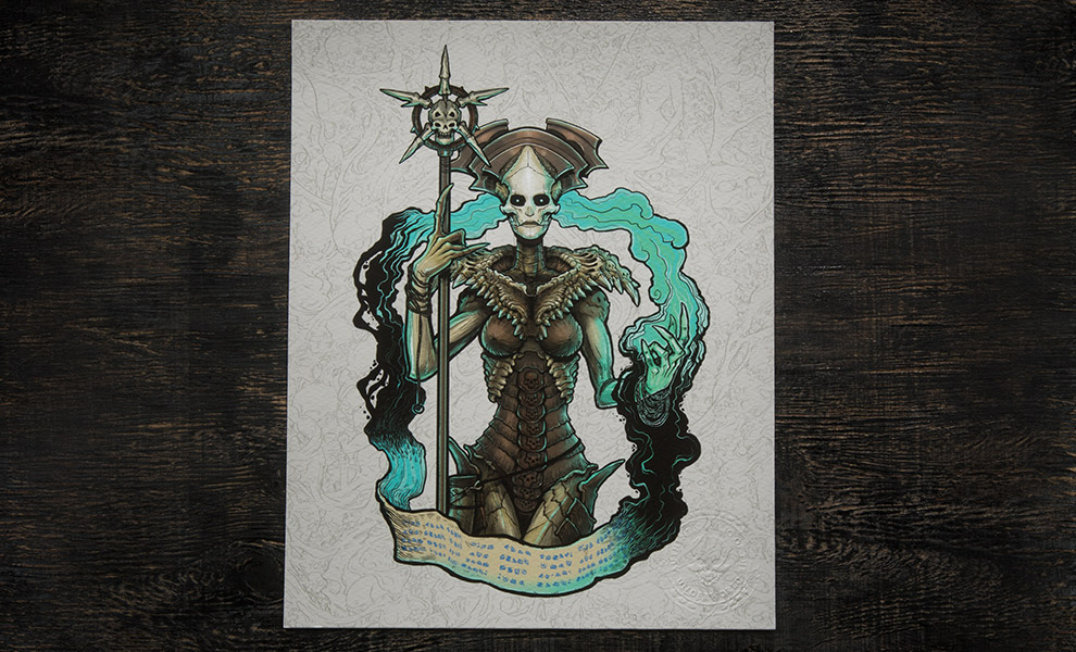 Gallery Feature Image of Xiall Art Print - Click to open image gallery