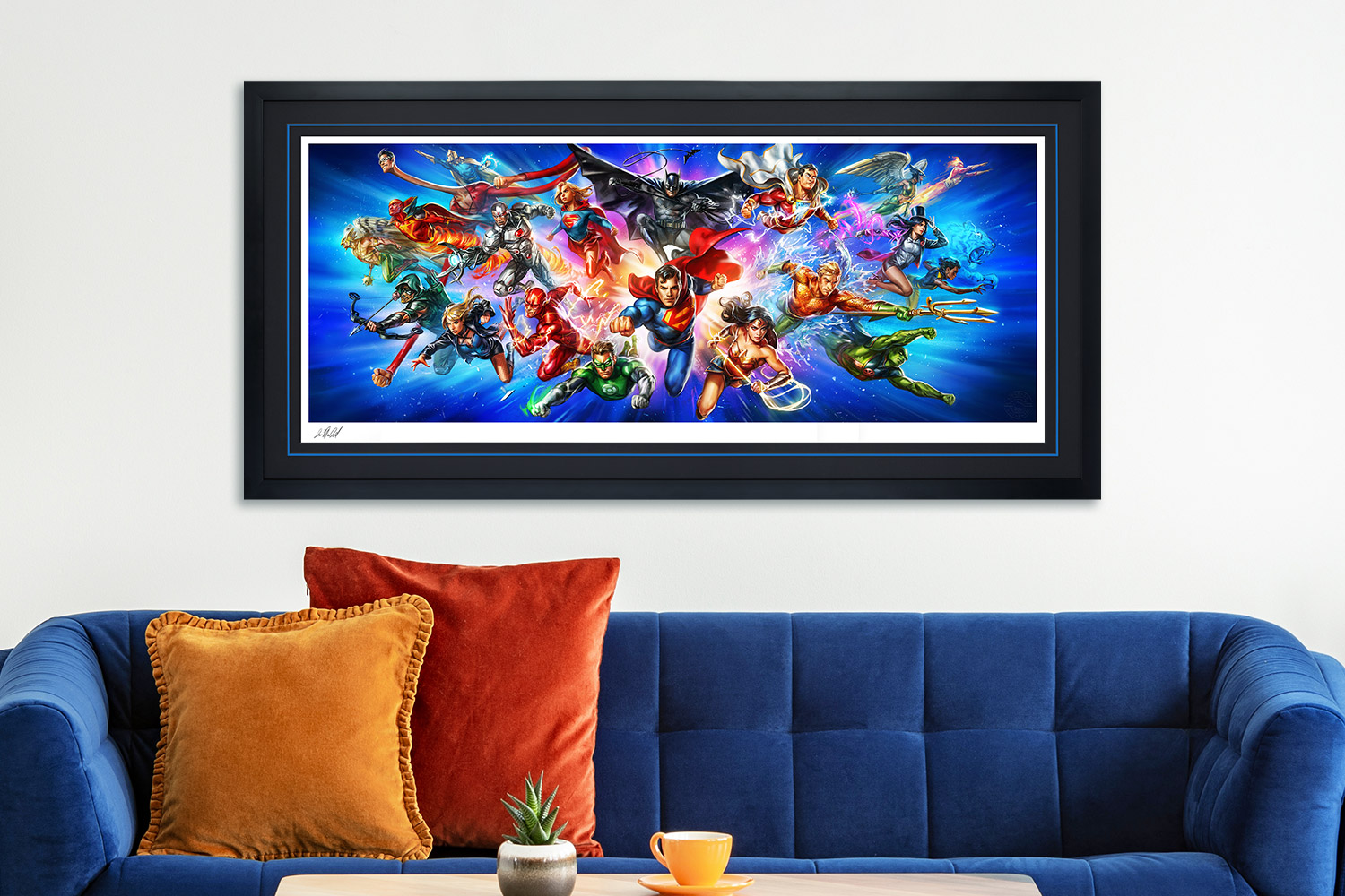 Justice League: The World's Greatest Super Heroes Art Print feature image