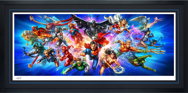 Justice League: The World's Greatest Super Heroes Art Print - Deluxe Fine Art Print