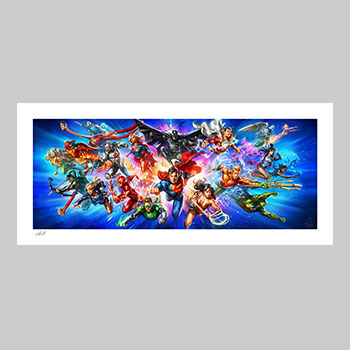 Justice League: The World's Greatest Super Heroes Art Print
