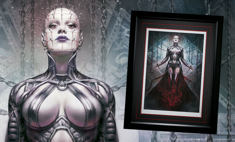 Gallery Feature Image of The Hell Priestess Art Print - Click to open image gallery