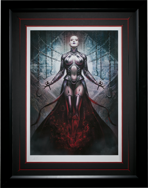 The Hell Priestess Art Print