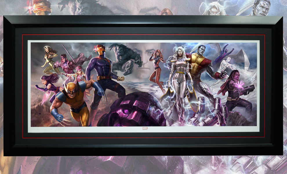 Gallery Feature Image of X-Men Art Print - Click to open image gallery