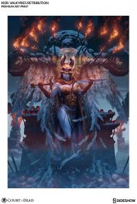 Gallery Image of Kier Valkyries Retribution Art Print