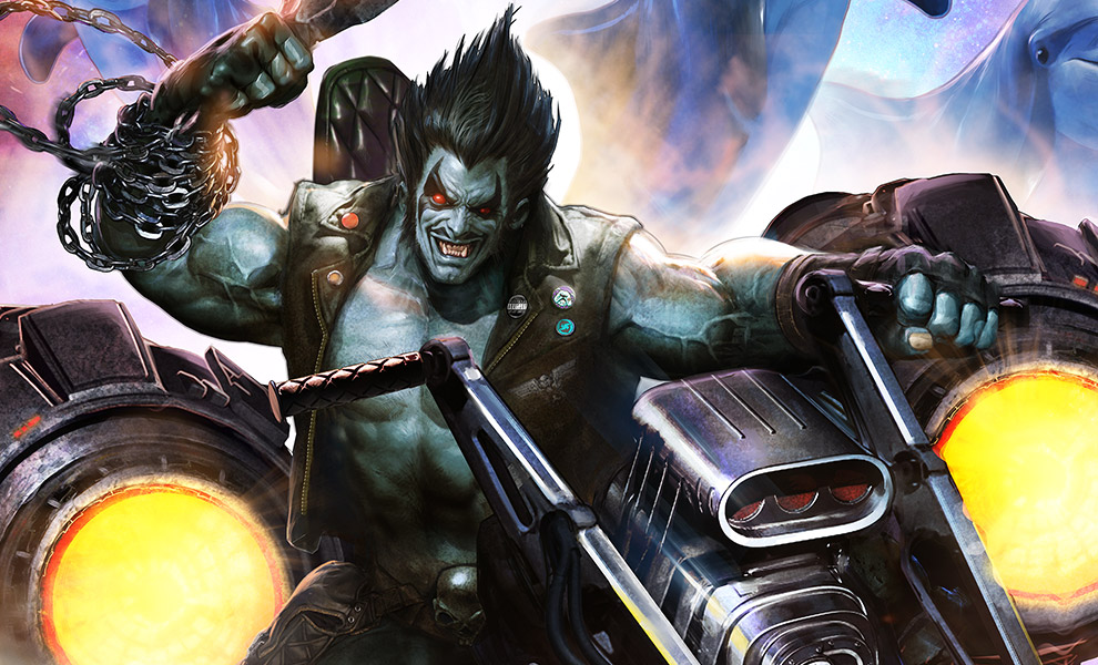 Gallery Feature Image of Lobo The Last Czarnian Art Print - Click to open image gallery